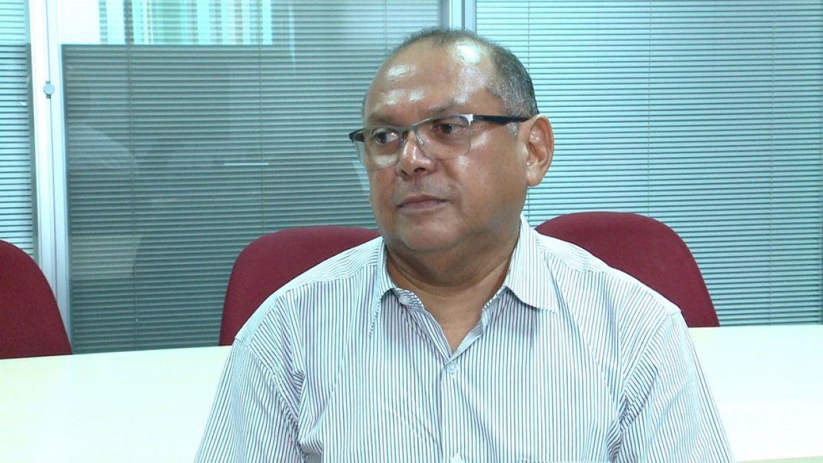 Pró-reitor de administração do IFPI, Paulo Borges — Foto: Reprodução/TV Clube