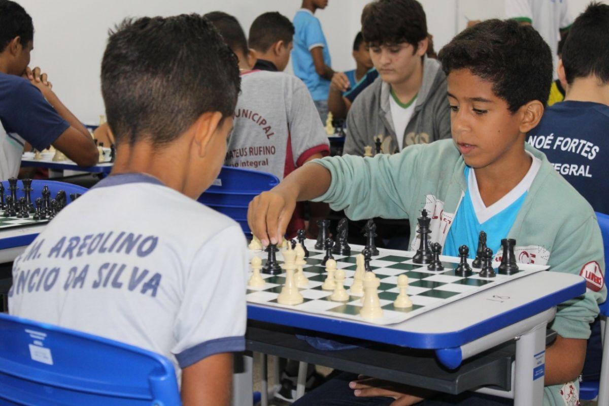 Circuito SEMEC de Xadrez  - Foto: Ascom/SEMEC