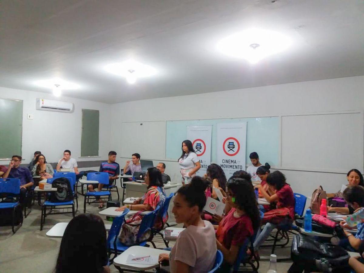 Segunda exibição ocorrida na Universidade Estadual do Piauí. Foto: Arquivo pessoal
