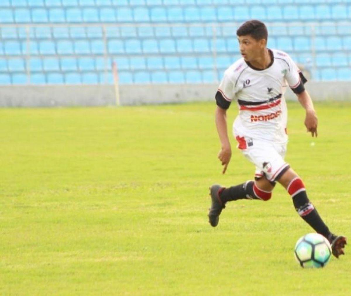 Jogador Erick Pulga está fora dos jogos da Copa São Paulo de Futebol Júnior