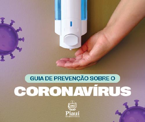 Guia de prevenção - Governo (Corona Virus)