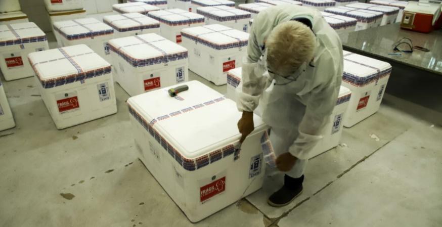 Sesapi começa a distribuição das vacinas para os municípios do Piauí