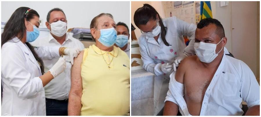 MP apura denúncias de prefeitos vacinados contra a Covid fora de grupos prioritários no PI