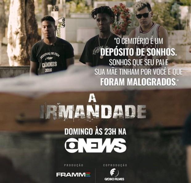 Documentário piauiense 'A Irmandade' será exibido na Globonews dia 24 de janeiro