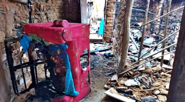 Criança tem 36% do corpo queimado durante incêndio provocado pelo próprio pai em Parnaíba