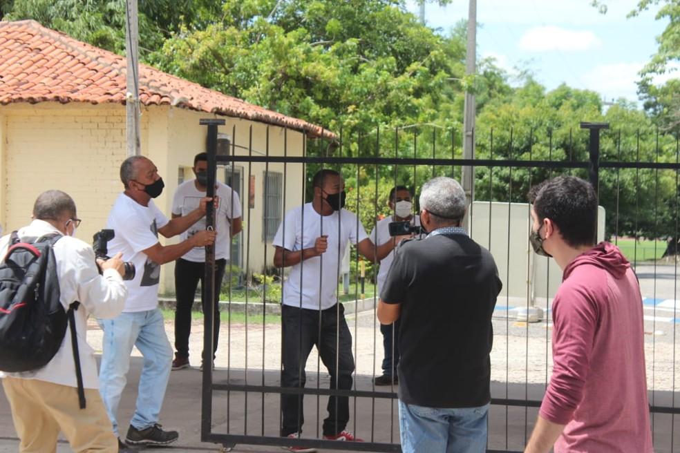 Enem no Piauí: portões abrem 10 minutos antes e locais de prova têm pouca movimentação