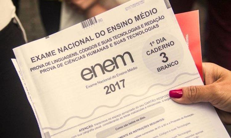 Estudantes têm até sexta-feira para se inscreverem no ENEM