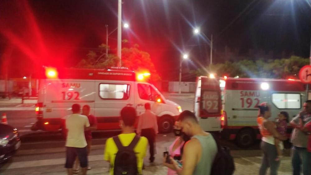 Parnaíba: botijão de gás explode em pizzaria e deixa quatro pessoas feridas