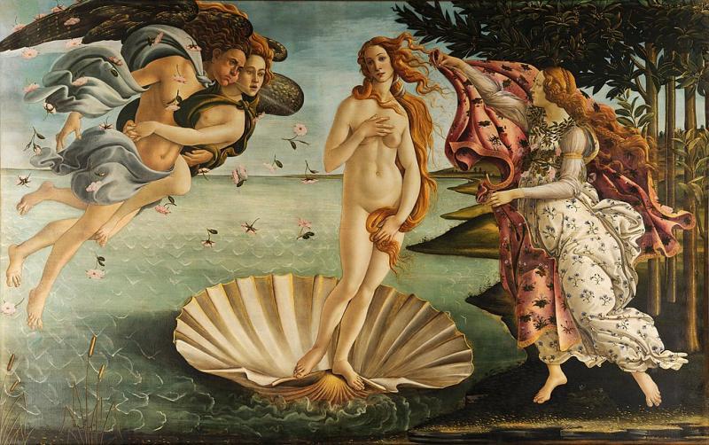 A arte de Sandro Botticelli