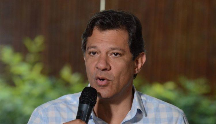 Haddad começa no fim do mês viagens para fortalecer o PT na eleição de 2022