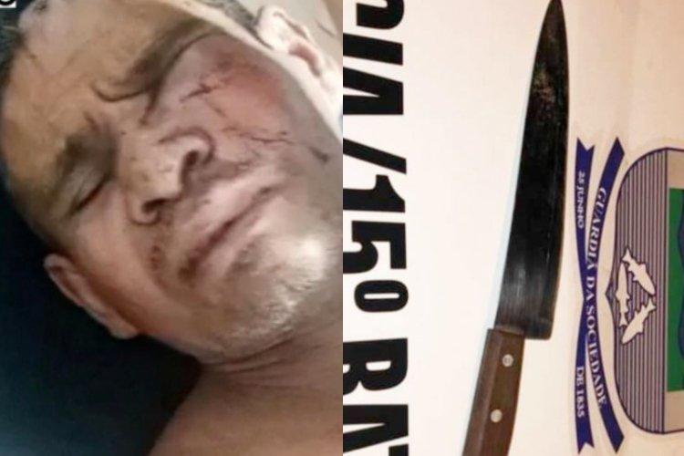Jovem é preso após invadir casa e esfaquear idoso no Norte do Piauí