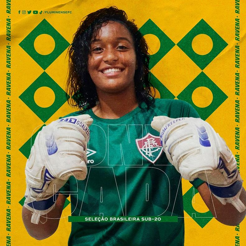 Goleira piauiense foi convocada para a seleção brasileira sub-20