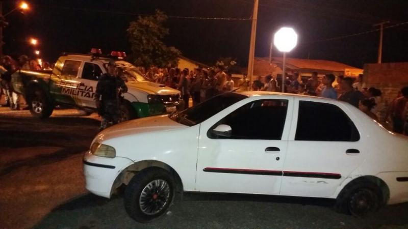 Bandidos trocam tiros após realizarem assalto no bairro Parque Jurema, em Teresina