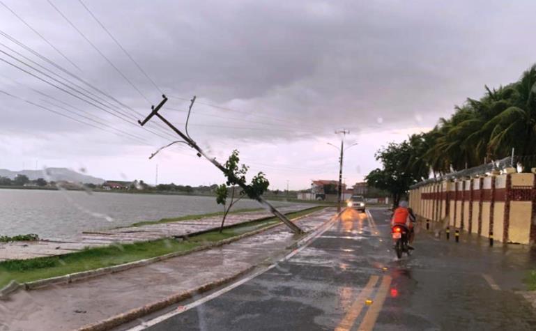 Temporal com chuva e ventos fortes causa estragos em Campo Maior