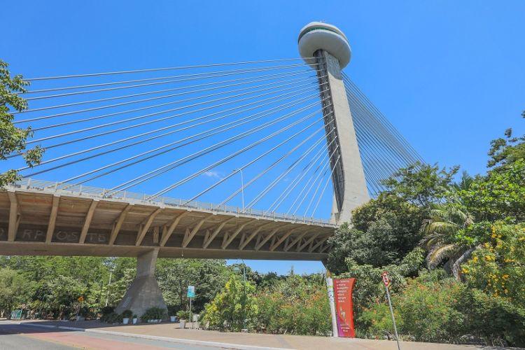 Complexo da Ponte Estaiada deve receber posto da Guarda Municipal em Teresina
