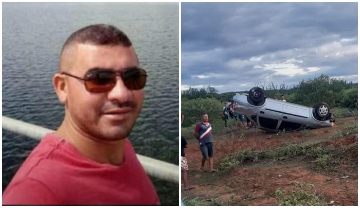 Motorista morre após ser sacado de veículo durante acidente no Piauí