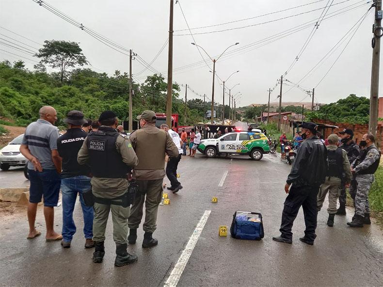 Policial militar reage a assalto e atira em criminoso no bairro Vamos Ver o Sol