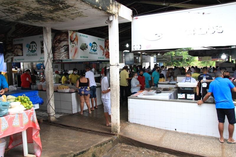 Mercado do Peixe recebe ampla reforma estrutural