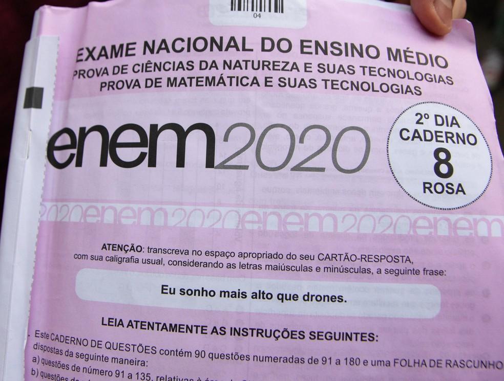 Locais de reaplicação do Enem 2020 serão divulgados nesta sexta, diz Inep