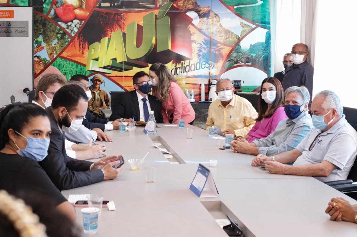 Prefeito de Teresina faz visita de cortesia à APPM e destaca união dos municípios