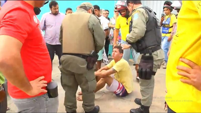Homem sofre tentativa de linchamento no centro de Parnaíba