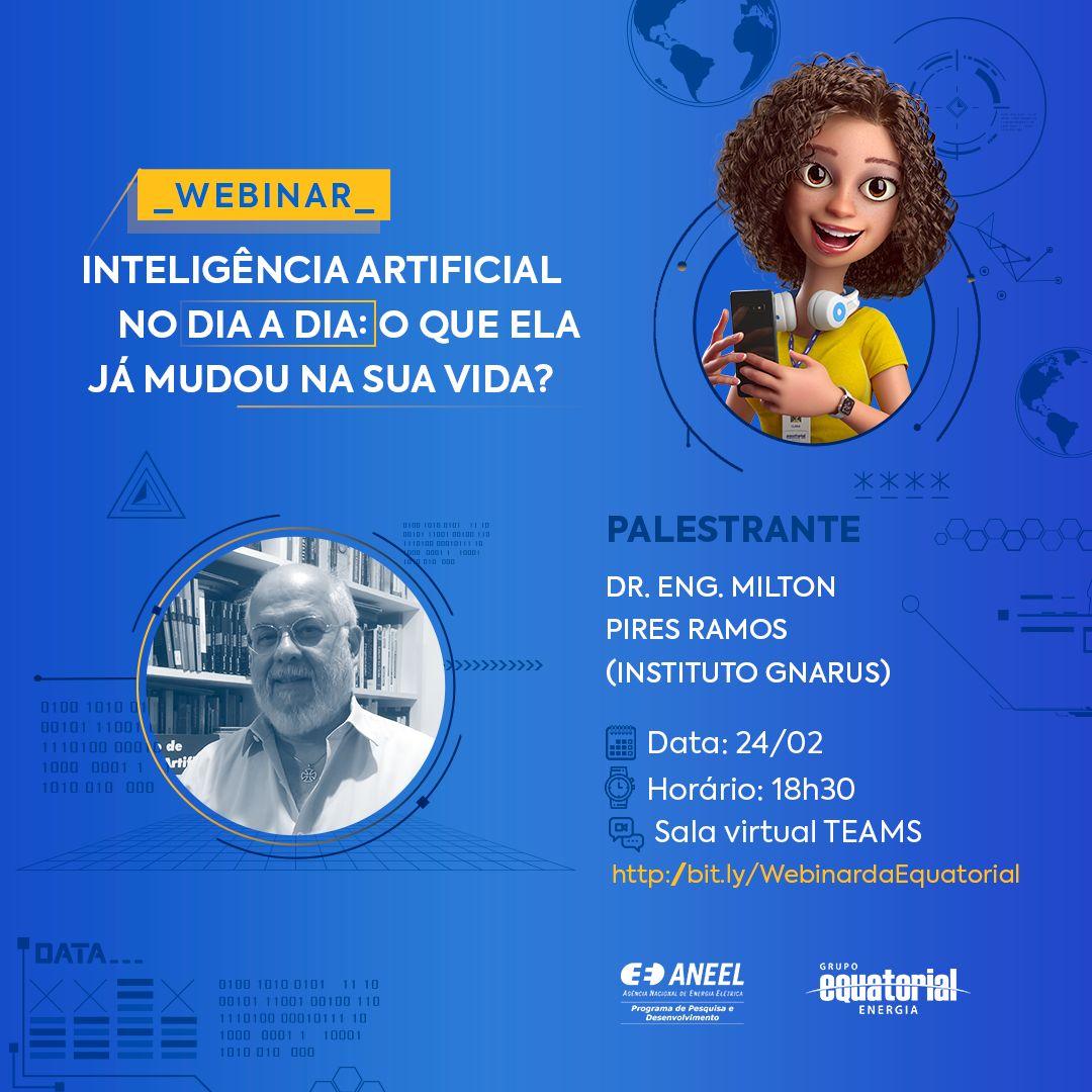 Equatorial Energia realiza evento virtual sobre Inteligência Artificial