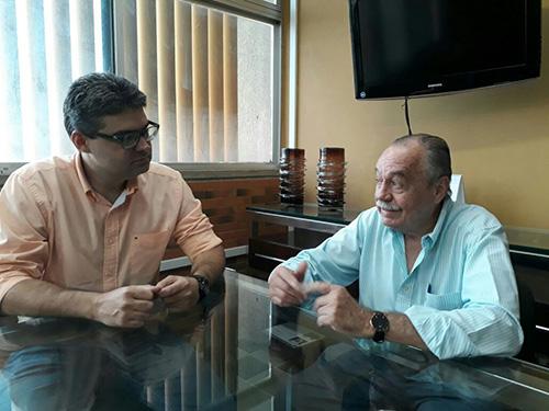 Mão Santa indica Freitas Neto para vice na chapa de Luciano Nunes