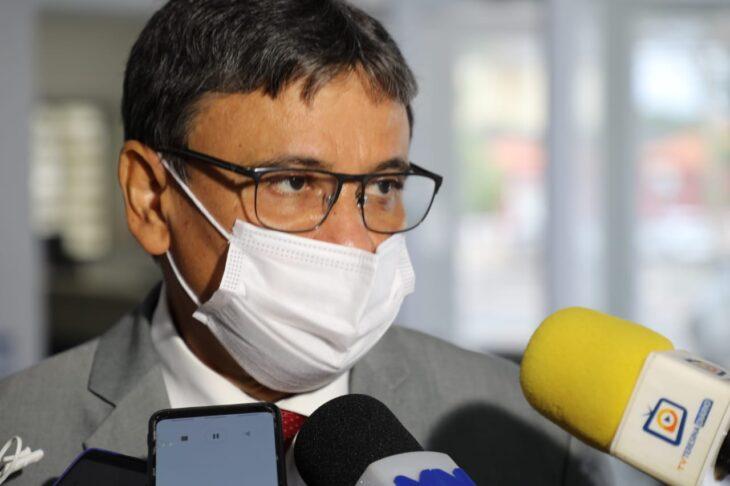Wellington Dias trata sobre cronograma de vacinação e entrega da Sputinik com Ministério da Saúde
