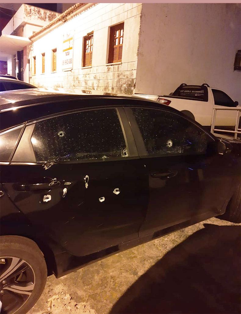 Preso suspeito de efetuar tiros contra delegado de Floriano
