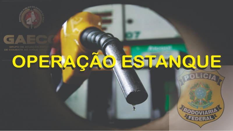 Polícia Rodoviária Federal faz operação para desarticular quadrilha que adulterava combustível