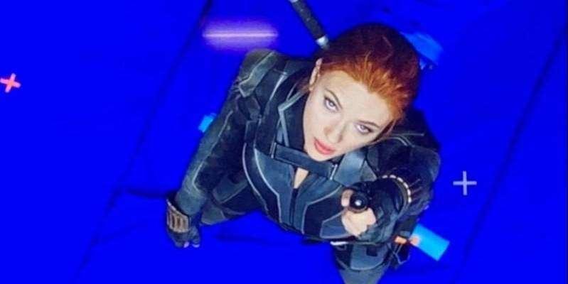 Maquiadora de Scarlett Johansson posta foto da atriz durante as filmagens