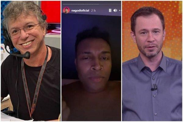 """Nego Di acusa Globo de manipulação: """"Cansei de passar pano"""""""