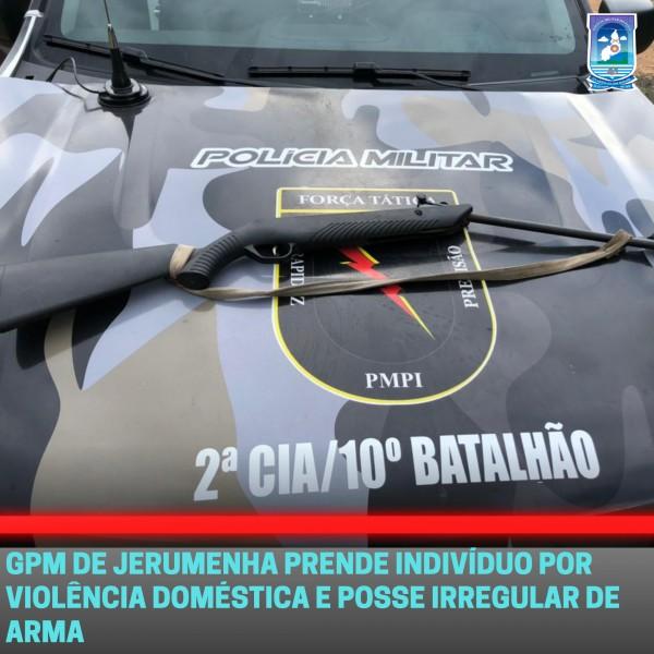 Homem é preso após ameaçar matar a própria filha e esposa no Piauí