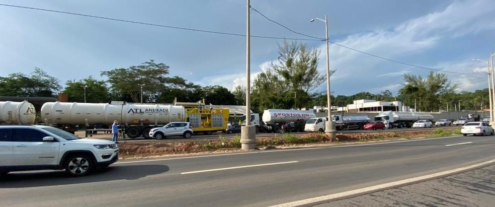 Donos de postos de combustíveis protestam contra aumento de impostos no Piauí