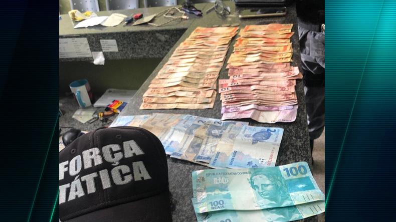 Casal é flagrado com notas de R$ 100 falsas e encaminhado à PF