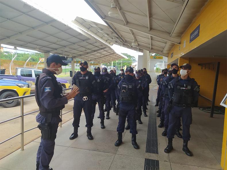 Em operação, GCM ocupa bairro para inibir a violência