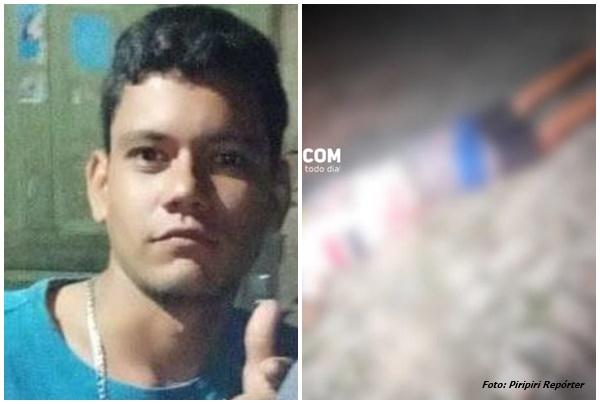 Jovem de 25 anos é assassinado a tiros em Piripiri