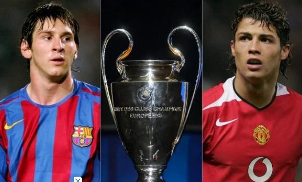 Messi e CR7 fora das quartas da Champions: como era o mundo há 16 anos