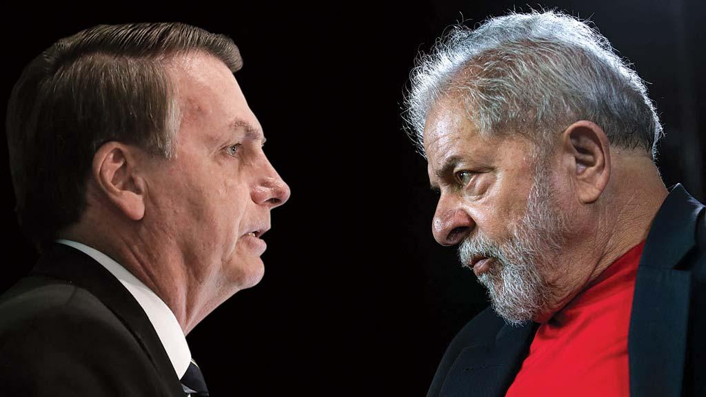 Bolsonaro e Lula empatam tecnicamente em intenções de voto, diz pesquisa