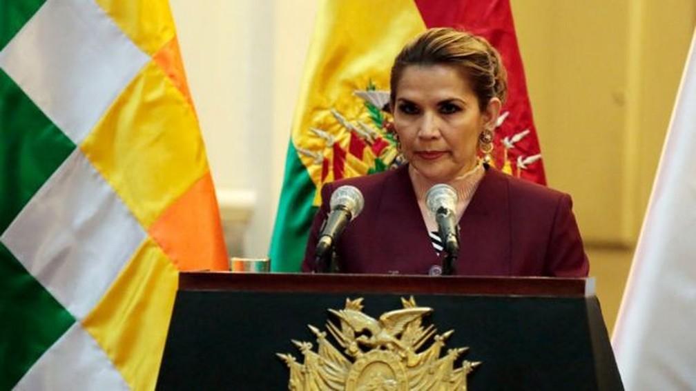 Ex-presidente boliviana Jeanine Áñez é presa