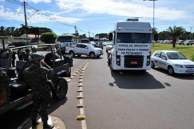 Contra os caminhoneiros: STF autoriza uso das Força Armadas para desobstruir rodovias em todo país