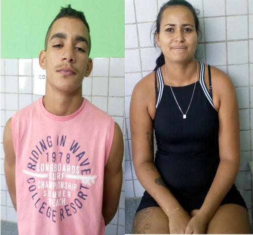 PM prende casal suspeito de dezenas de roubos em Teresina