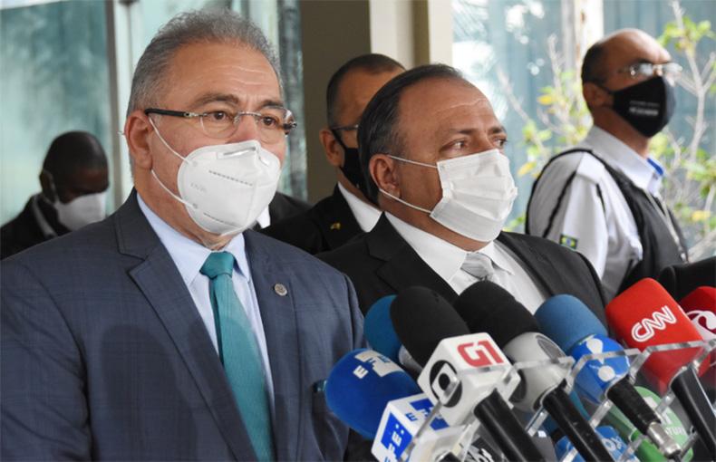 Novo ministro, Marcelo Queiroga fala em continuidade na Saúde