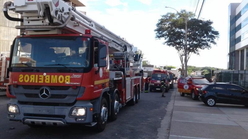Curto-circuito provoca incêndio no prédio do Tribunal de Justiça do Piauí