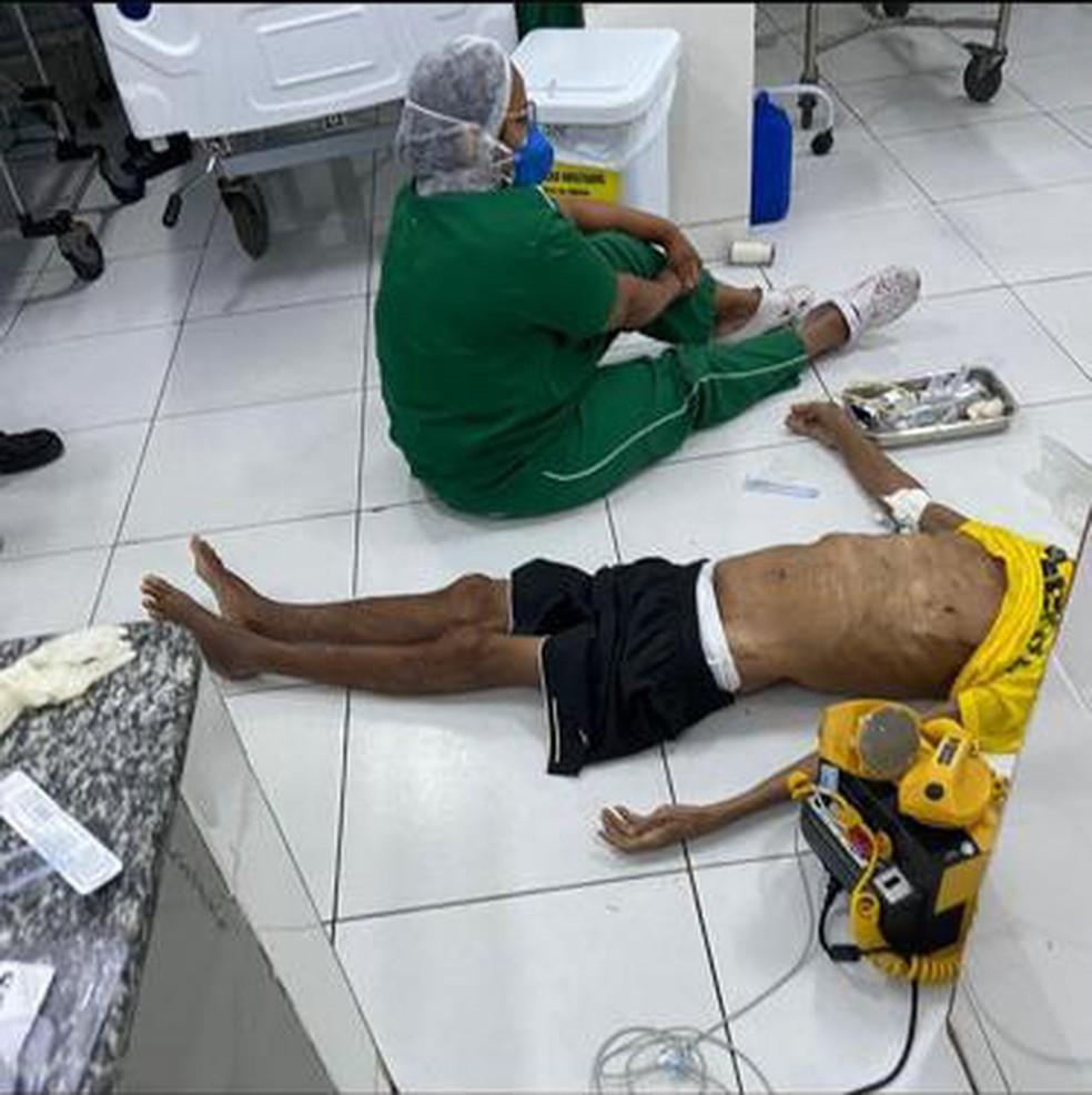Paciente morre após ser atendido no chão em UPA na Zona Sul de Teresina