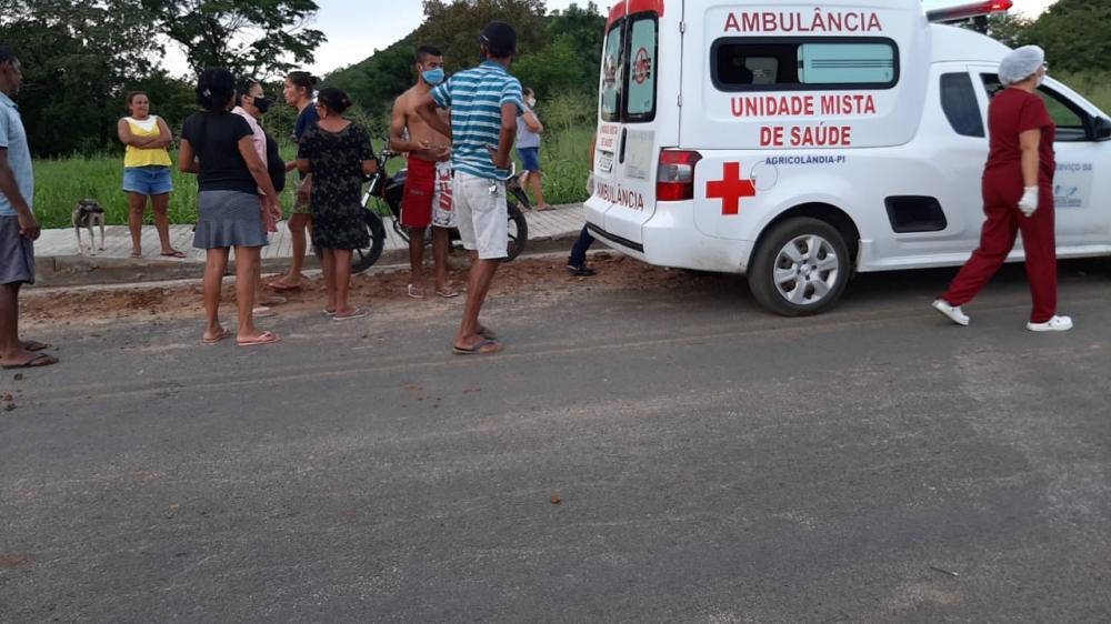 Jovem morre após se envolver em grave acidente em Agricolândia