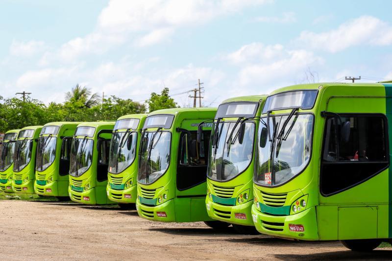 Ônibus de Teresina já estão com 70% da frota nesta terça-feira