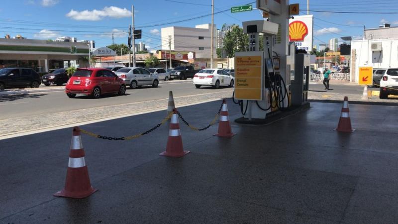 Somente 1% dos postos do Piauí estão com estoque de combustíveis