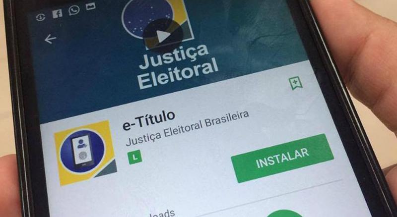 Quase 45 mil piauienses já baixaram o título de eleitor digital