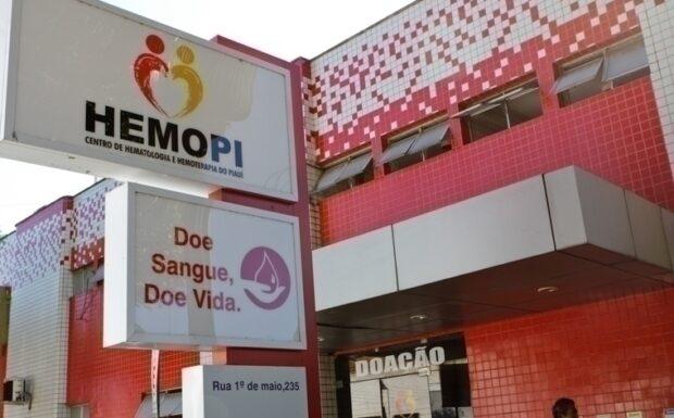 Hemopi funciona em horário especial durante o feriado